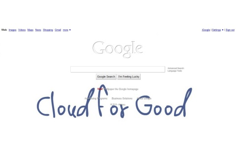 cloud for good google wallpaper